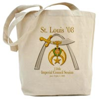 St. Louis '08 Imperial Council Session Tote Bag